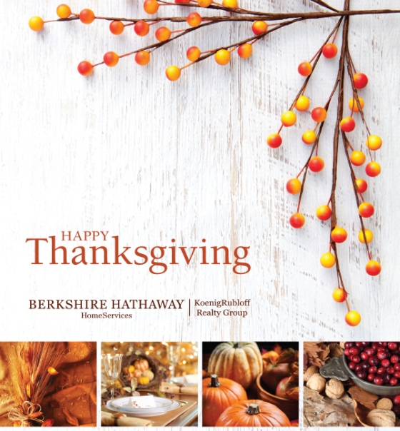 Wishing Everyone a Happy and Healthy Thanksgiving Holiday!