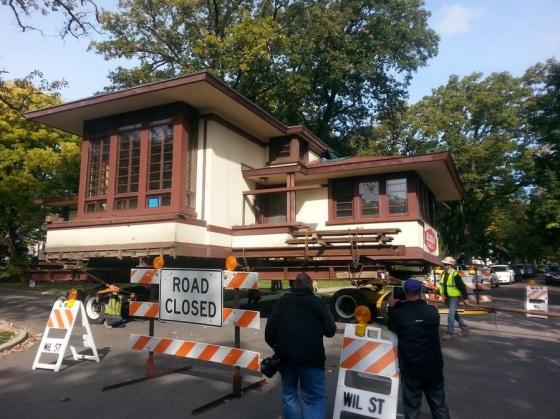 John Van Bergen House Move