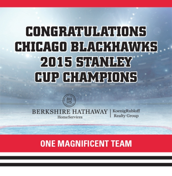 2015 Stanley Cup Champs!