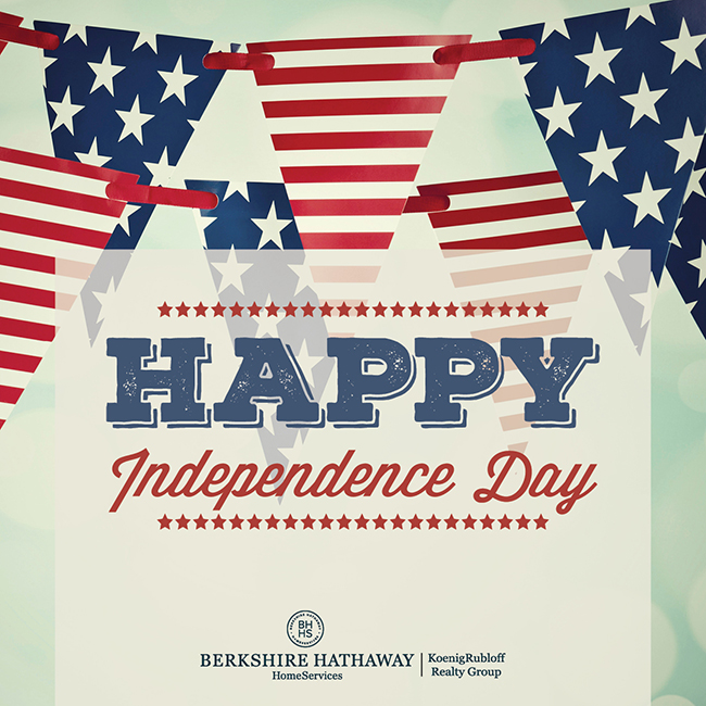 Wishing You A Great 4th of JulyWeekend!