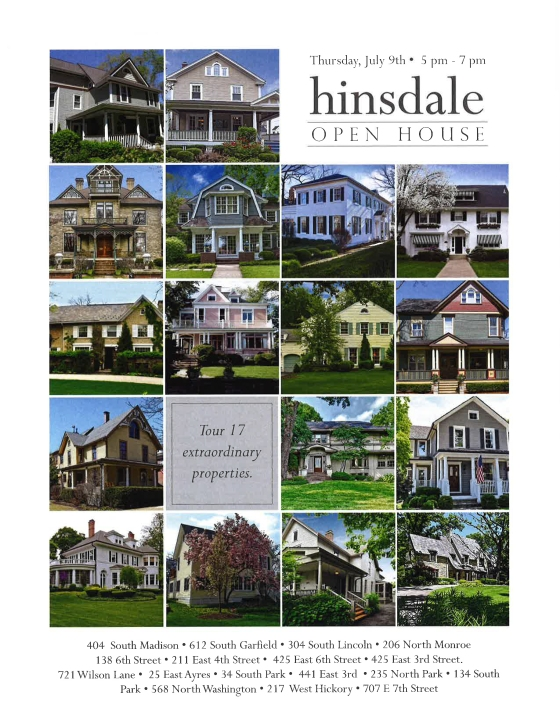 Hinsdale Historical Home Tour