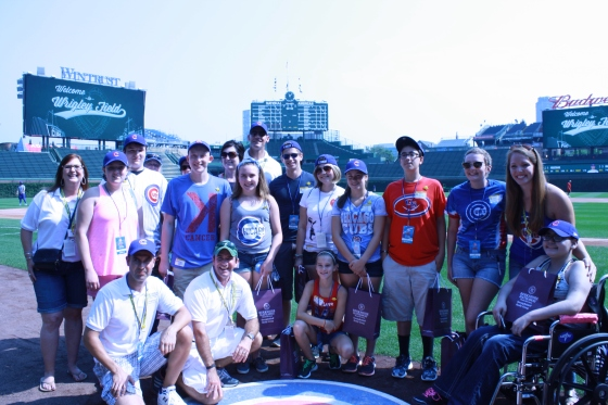 The Sunshine Kids Foundation Cubs Outing 2015