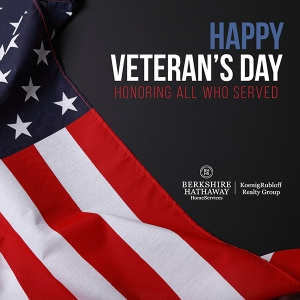 Happy Veteran's Day!