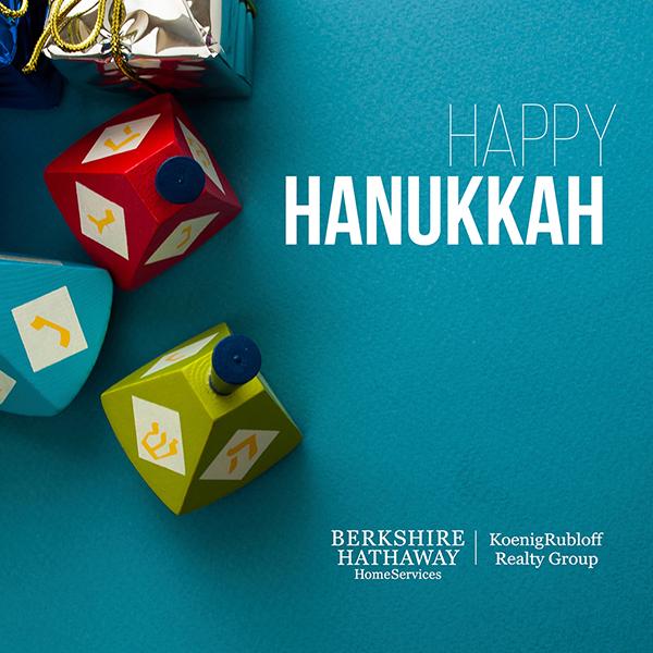 Happy Hanukkah 2015 from Nancy andMichael!