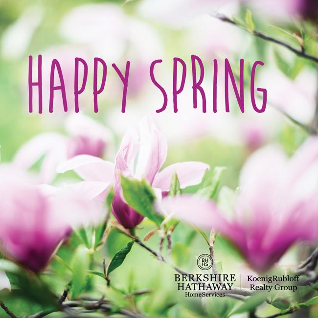 Happy Spring 2016!