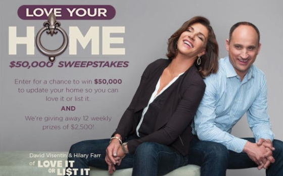 Love it Sweepstakes