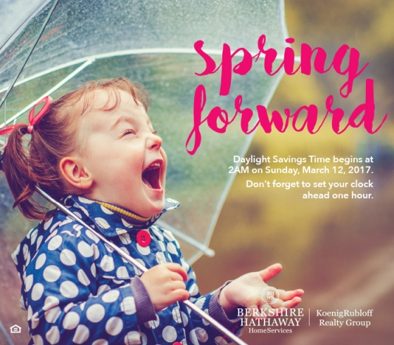 Spring Forward on March 12th!