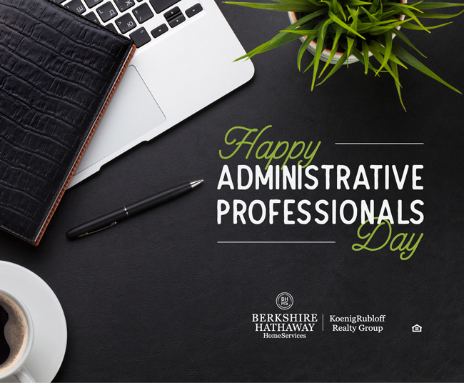 Happy Administrative Professional's Day! – 2018