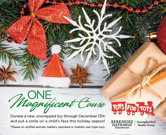 One Magnificent Cause – Toys For Tots!