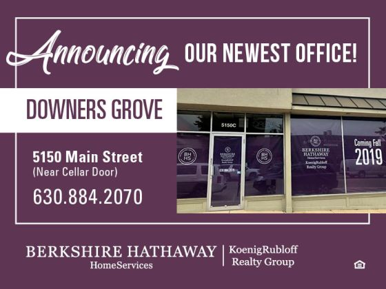 We are SO excited to announce our newest office in Downers Grove!