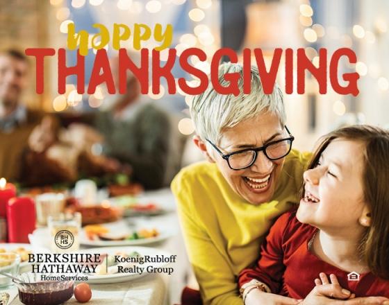 Happy Thanksgiving 2019!