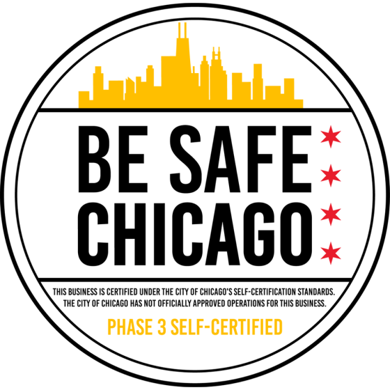Be Safe Chicago – We are ready for Phase 3