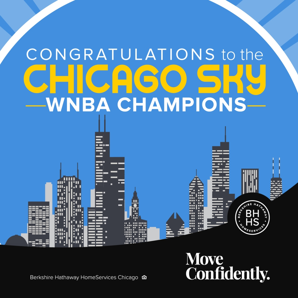 Congratulations to the Chicago Sky! You make usproud!